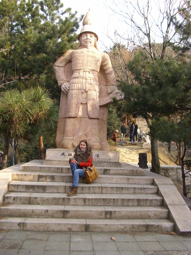 Статуа кинеског ратника