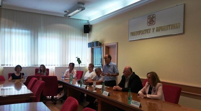 Obraćanje profesora Radića na Univerzitetu