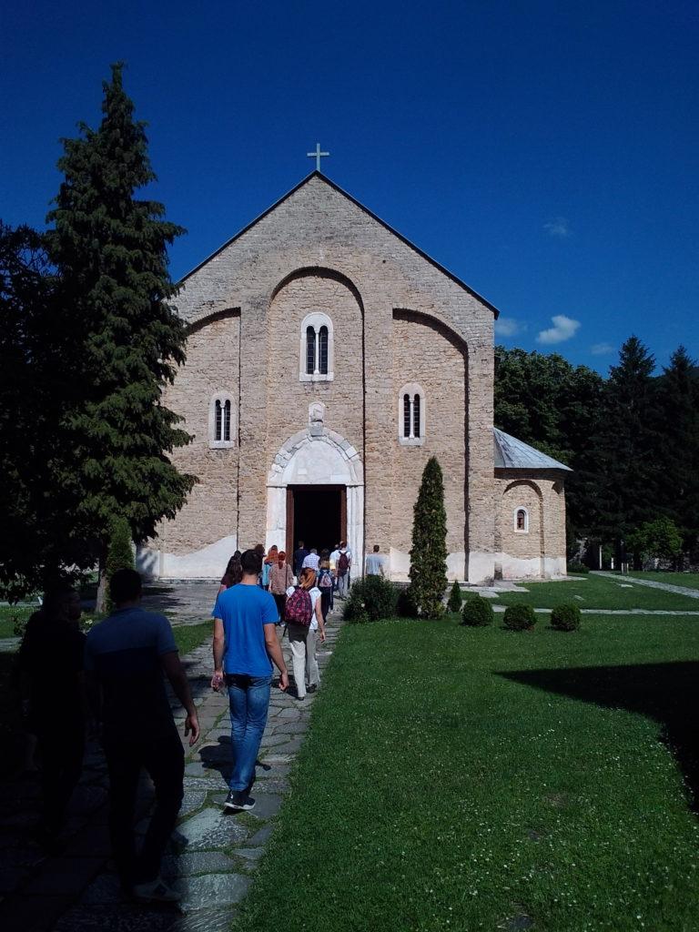 Ulazak u Manastir Banjska