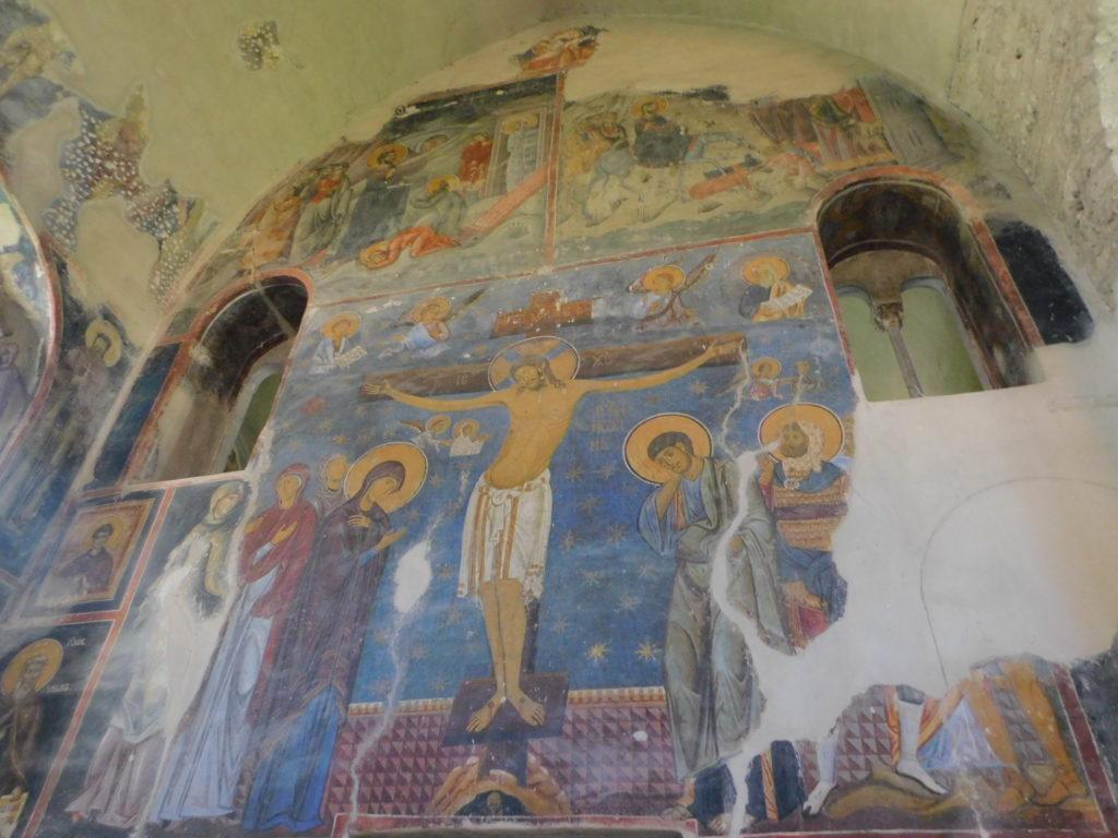 Freska iz 12. veka oslikana vizantijskom plavom